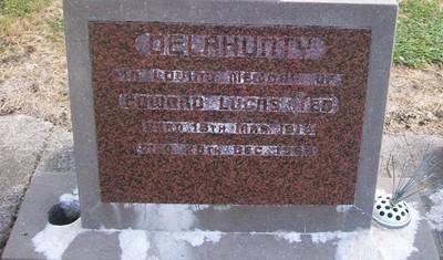 Picture of Taruheru cemetery, block 26, plot 409.