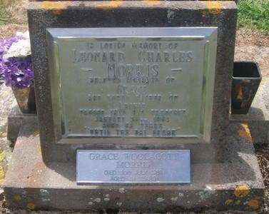 Picture of Taruheru cemetery, block 26, plot 55.