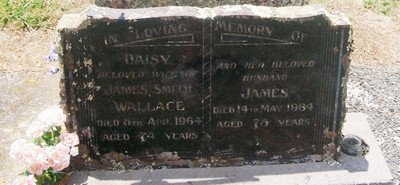 Picture of Taruheru cemetery, block 26, plot 62.