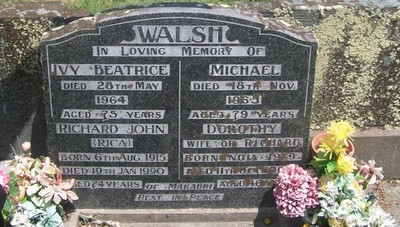 Picture of Taruheru cemetery, block 26, plot 91.