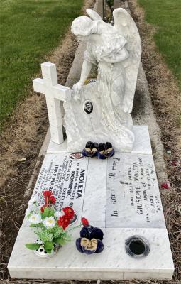 Picture of Taruheru cemetery, block 27, plot 100.