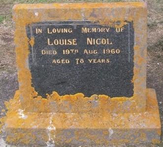 Picture of Taruheru cemetery, block 27, plot 109.