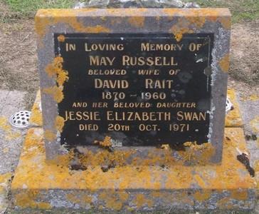 Picture of Taruheru cemetery, block 27, plot 11.
