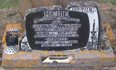Picture of Taruheru cemetery, block 27, plot 114.