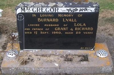 Picture of Taruheru cemetery, block 27, plot 117.
