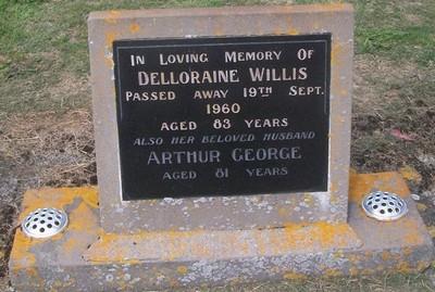 Picture of Taruheru cemetery, block 27, plot 121.