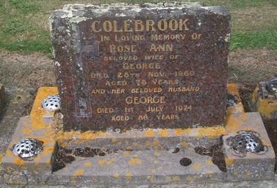 Picture of Taruheru cemetery, block 27, plot 129.