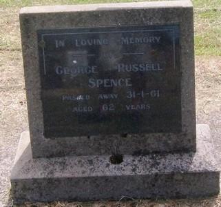 Picture of Taruheru cemetery, block 27, plot 137.