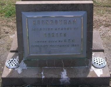 Picture of Taruheru cemetery, block 27, plot 138.