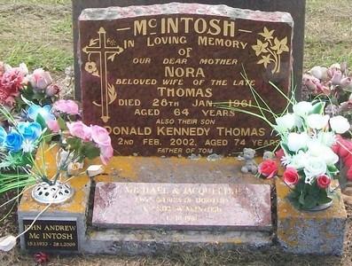 Picture of Taruheru cemetery, block 27, plot 155.