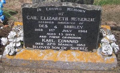 Picture of Taruheru cemetery, block 27, plot 175.