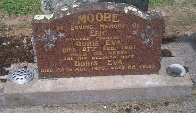 Picture of Taruheru cemetery, block 27, plot 196.
