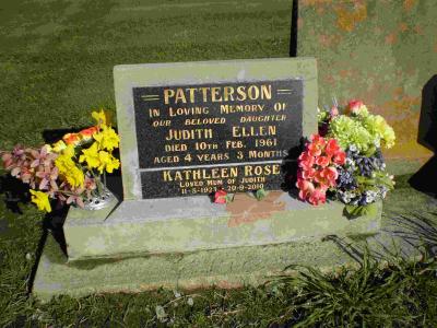 Picture of Taruheru cemetery, block 27, plot 198.