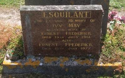 Picture of Taruheru cemetery, block 27, plot 208.