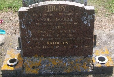 Picture of Taruheru cemetery, block 27, plot 230.