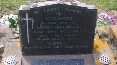 Picture of Taruheru cemetery, block 27, plot 288.