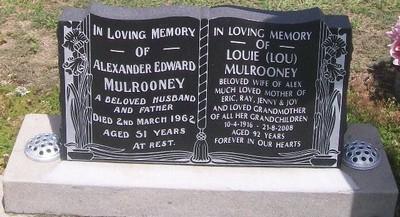 Picture of Taruheru cemetery, block 27, plot 313.