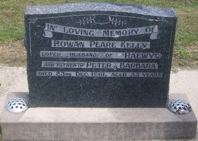 Picture of Taruheru cemetery, block 27, plot 323.