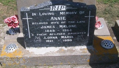 Picture of Taruheru cemetery, block 27, plot 365.