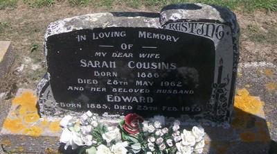 Picture of Taruheru cemetery, block 27, plot 370.