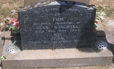 Picture of Taruheru cemetery, block 27, plot 380.