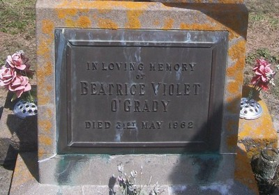 Picture of Taruheru cemetery, block 27, plot 383.