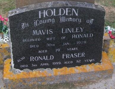 Picture of Taruheru cemetery, block 27, plot 40.