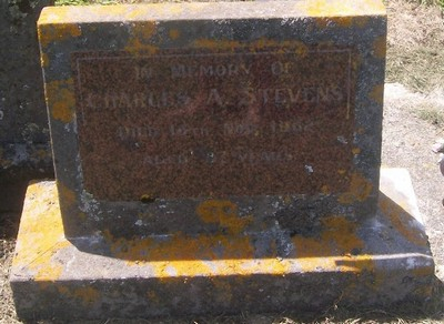 Picture of Taruheru cemetery, block 27, plot 412.