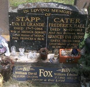 Picture of Taruheru cemetery, block 27, plot 447.