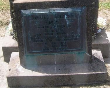 Picture of Taruheru cemetery, block 27, plot 468.