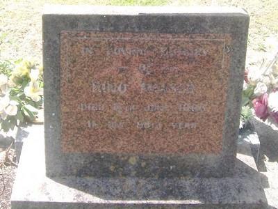 Picture of Taruheru cemetery, block 27, plot 470.