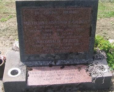 Picture of Taruheru cemetery, block 27, plot 480.