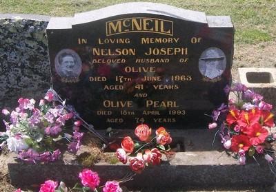 Picture of Taruheru cemetery, block 27, plot 494.