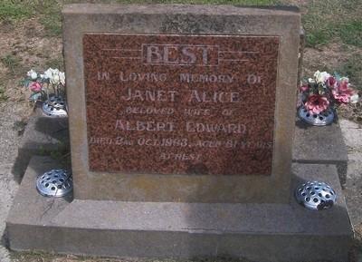Picture of Taruheru cemetery, block 27, plot 517.