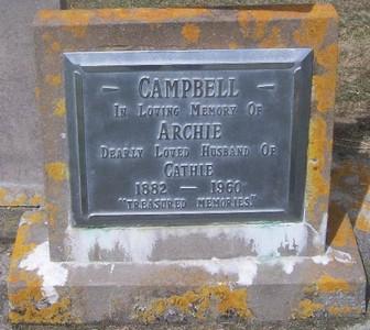 Picture of Taruheru cemetery, block 27, plot 61.