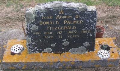 Picture of Taruheru cemetery, block 27, plot 88.