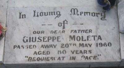Picture of Taruheru cemetery, block 27, plot 99.