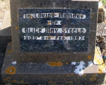 Picture of Taruheru cemetery, block 28, plot 15.