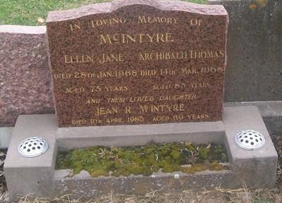 Picture of Taruheru cemetery, block 28, plot 152.
