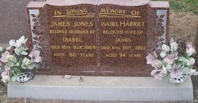 Picture of Taruheru cemetery, block 28, plot 159.