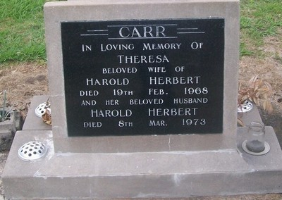 Picture of Taruheru cemetery, block 28, plot 177.