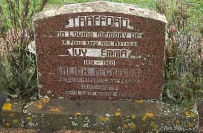Picture of Taruheru cemetery, block 28, plot 191.