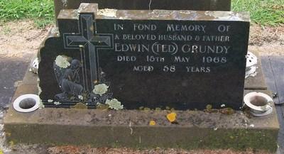 Picture of Taruheru cemetery, block 28, plot 198.