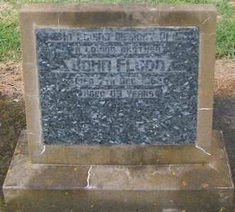 Picture of Taruheru cemetery, block 28, plot 306.