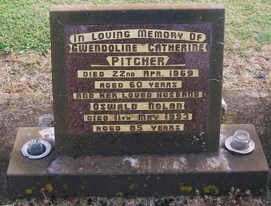 Picture of Taruheru cemetery, block 28, plot 331.