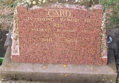 Picture of Taruheru cemetery, block 28, plot 354.