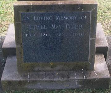 Picture of Taruheru cemetery, block 28, plot 387.