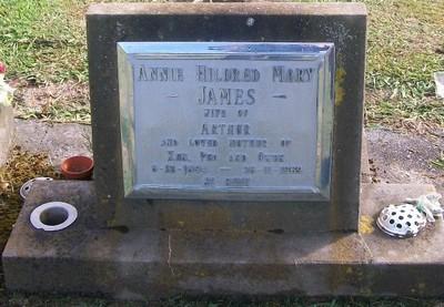 Picture of Taruheru cemetery, block 28, plot 392.