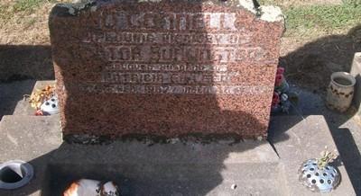 Picture of Taruheru cemetery, block 28, plot 46.