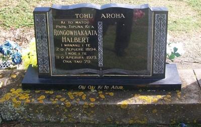 Picture of Taruheru cemetery, block 28, plot 464.